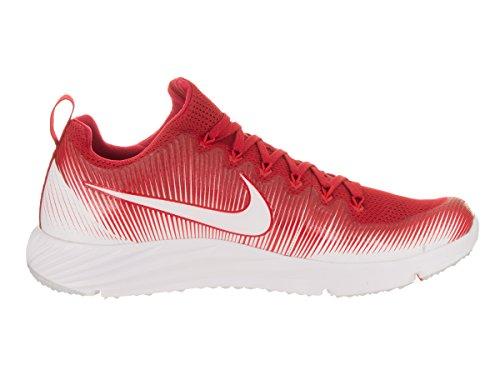 Nike Hommes Vitesse De La Vapeur Gazon Chaussures De Formation Lax Rouge / Blanc