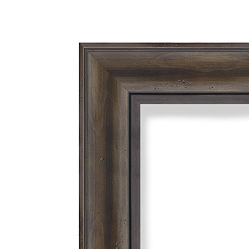 Amanti Art Framed Beige Cork Board Rustic Pine: Outer Size 42 x 30'', Extra Large by Amanti Art (Image #2)