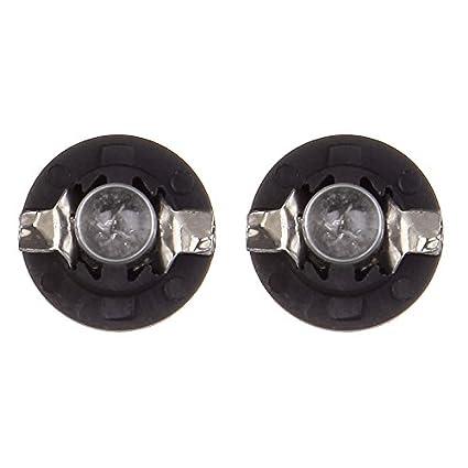 cciyu 4 pcs 509t T5 B8.5D Twist Halogen Light Bulbs 1.2W Replacement fit for Instrument panel Gauge Cluster Speedometer