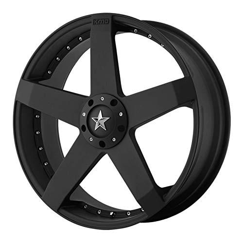 KMX Wheels Rockstar Car KM7757 Matte Black Finish Wheel (22x8.5