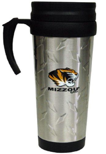 - NCAA Missouri Tigers Stainless Steel Diamond Plate Mug