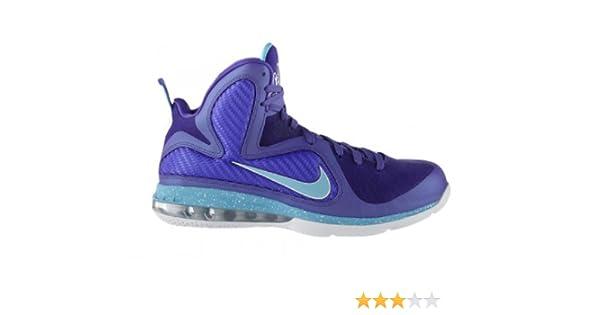 pretty nice 7727e f1323 Amazon.com   Nike Lebron 9 Summit Lake Hornets (469764-500) (Mens US9.5)    Baseball   Softball