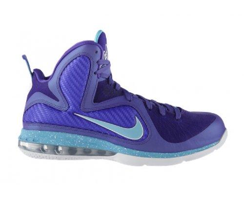 NIKE LeBron 9 Scarpa da Basket Uomo Porpora