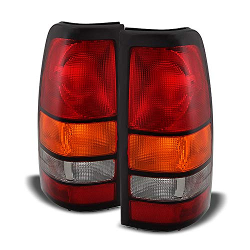 ACANII - For 2004-2006 GMC Sierra 1500 2500 3500 Truck Tail Lights Lamps 04 05 06 Left+Right