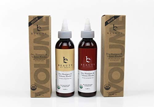 Organic Dry Shampoo, Powder for Instant Unwashed Hair for Volume and Style, Clean All Natural Scent Dry Poo for Those No Wash Days, 3oz