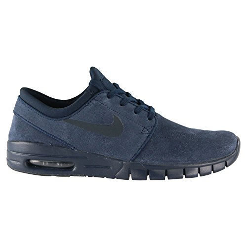 86ad1714f403 Galleon - Nike Mens Stefan Janoski Max L Obsidian Dark Obsidian Skate Shoe  11 Men US