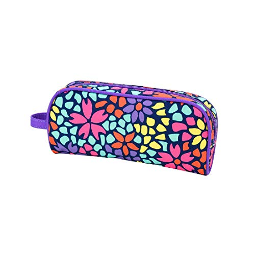 Wholesale Boutique Petal Punch Pencil Bag (M370VL-PETAL)