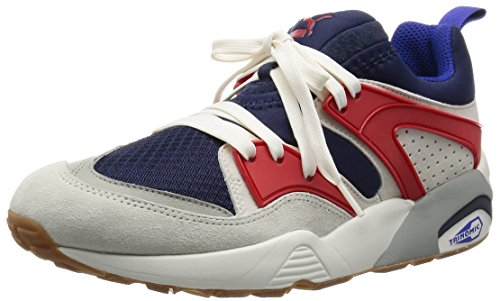 Puma - Blaze of Glory Athletic - Sneakers Uomo Black-star white-hgh rsk red