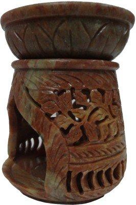 大理石オイルバーナー10 cm Tapered円錐形状Hand Stone Carved Indian a109 B076Y4Z1NZ