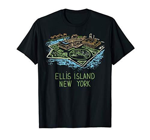 Ellis Island New York T-shirt Tee T Shirt Tshirt (The Ellis Island Of Black America Was In)