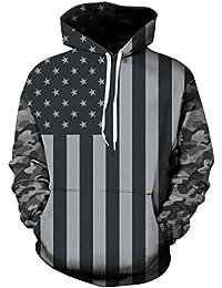Mens Unisex 3D Printed Hoodies Hooded Sweatshirts Graphic Pocket Pullover