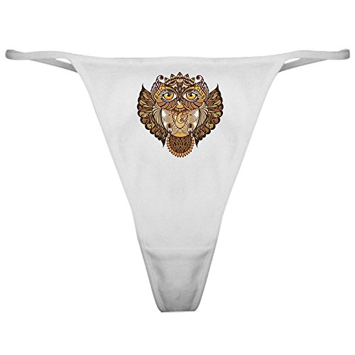 Owl Classic Thong - Royal Lion Classic Thong Wise Owl - Large