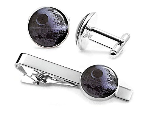 Star Wars Death Star Tie Clip & Cufflinks
