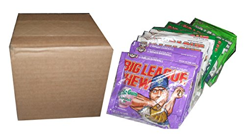 Big League Chewing Gum - 4 Flavor Assortment 12ct. -