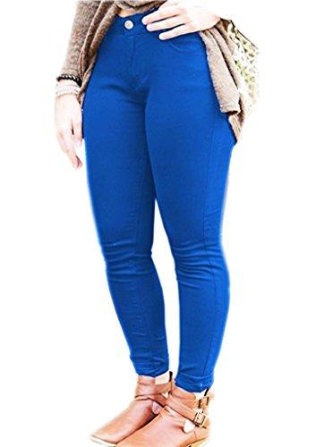 Fashions para Vaqueros Azul SA Real Mujer qzUwUA