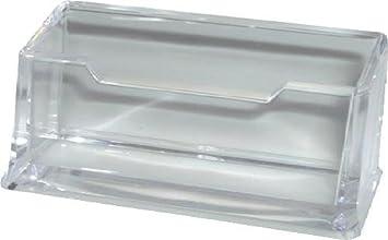 M M Visitenkartenhalter Solido 62840440sp Glasklar