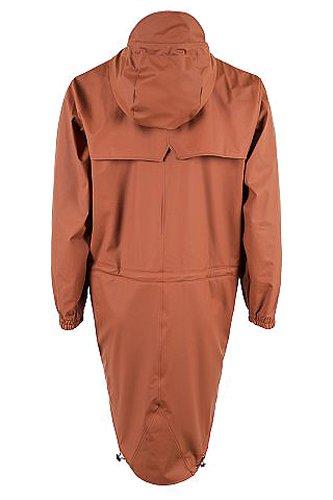 Coat rust Arancione Impermeabile Rains 51 Uomo Parka vw4UPg