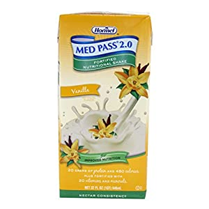 (Model: HM 27016) Med Pass® 2.0 Oral Supplement Vanilla 32oz Box 1/Box