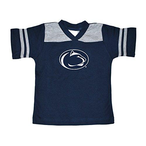 NCAA Penn State Nittany Lions Toddler Boys Football Shirt, Navy, 3