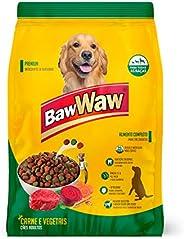 Ração Baw Waw para cães sabor Carne e Vegetais 15kg