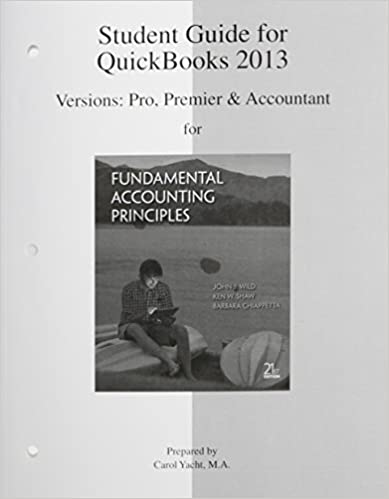 Book Quickbooks Templates with Quickbooks Software and Quickbooks Study Guide by John Wild (2013-04-03)