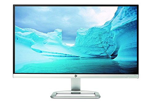 HP 25er 25-inch Full HD (1920 X 1080) IPS LED Backlit Zero Bezel Monitor with HDMI & VGA Port (T3M84AA#ABA, White) (Best Computer Display Monitors)
