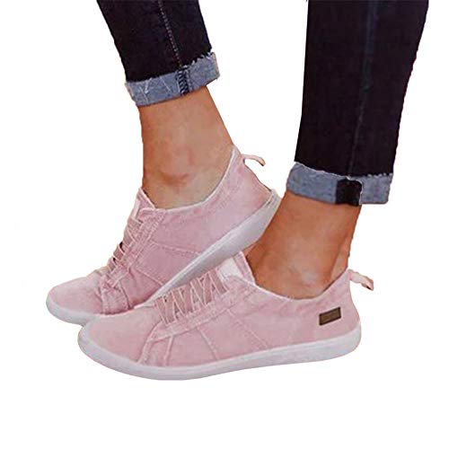 Yeyamei Canvas Shoes for Women Black Women's Fashion Sneakers Breathable Sport Shoe