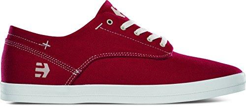 Etnies DAPPER - Zapatillas de skateboarding de tela para hombre rojo rojo rojo - rojo