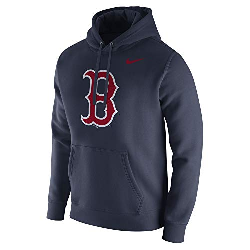 (Nike Men's Boston Red Sox MLB Hood Franch College Navy Size)
