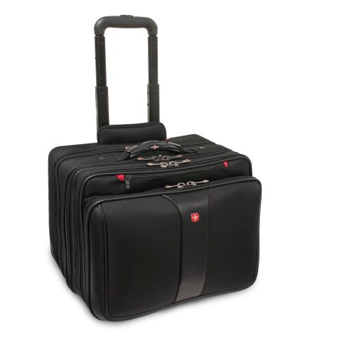 Patriot from Swiss Gear by Wenger Triple Gusset Rolling Computer Case w/Removable Tote by Wenger (Image #2)