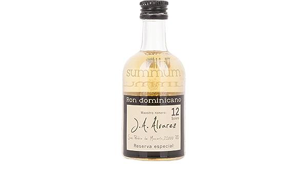 Summum 12 Solera Ron Dominicano Reserva Especial Rum - 3 ...