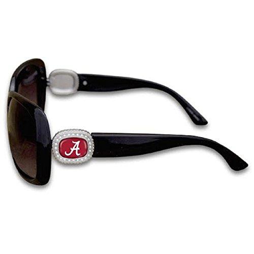 (FTH Alabama Crimson Tide Chantilly Sunglasses Embelished with Rhinestone Logo)