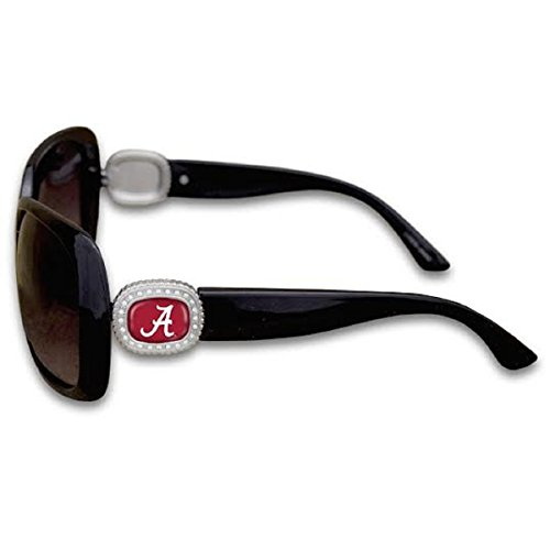 Alabama Crimson Tide Chantilly Sunglasses Embelished with Rhinestone - E Logo With Sunglasses