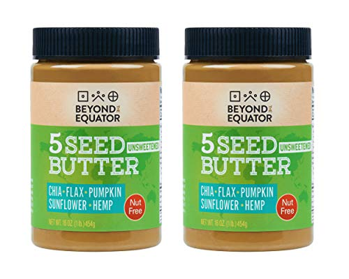 Beyond the Equator 5 Seed Butter - Nut Free, Low Carb, Keto, Non-GMO - No Sugar Added 2 pack