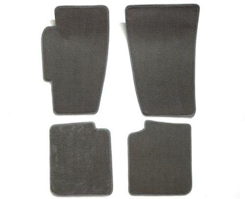 Premier Custom Fit 4-piece Set Carpet Floor Mats for Toyota Supra (Premium Nylon, Gray (Floor Mats Gray 4 Piece)