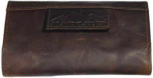 ALPENLEDER Traditional Tobacco Pouch SMYRNA - Genuine Leather Tobacco Bag
