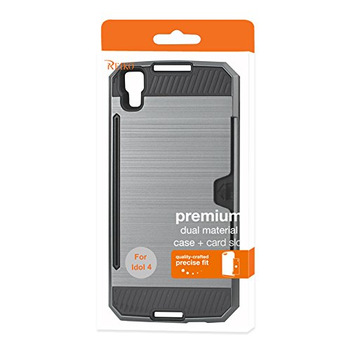 Reiko Cell Phone Case for Alcatel Idol 4 - Gray