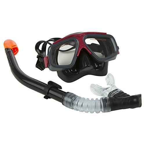 Intex Surf Rider Adult Swimming / Diving Mask & Snorkel Set