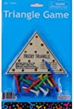 Wooden Tricky Triangle Game Case Pack 144 Toys Christmas Gift