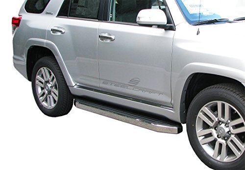 Board Usa Running Made Ford (Steelcraft 133800 Custom Fit 2010-2018 Toyota 4Runner/4Runner Limited / 2010-2013 Toyota SR5 Running Boards Side Step Nerf Bars)