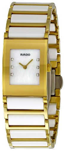 Rado Women's R20792901 Jubilee Gold PVD and Ceramic Bracelet Watch