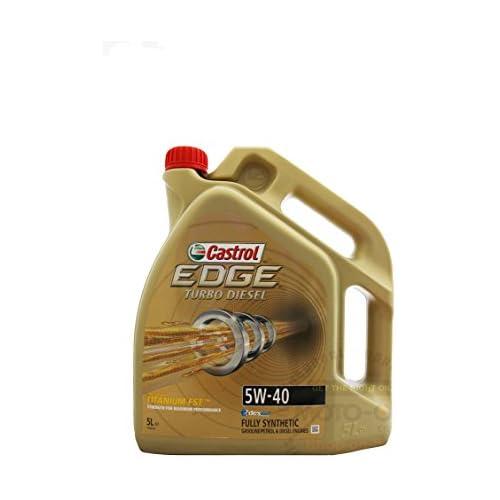 chollos oferta descuentos barato Titanio Castrol Edge FST 5 W 40 Turbo Diesel 5 litros