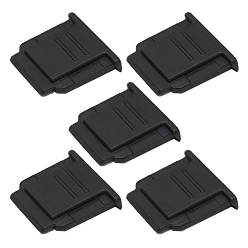 (5-Pack) VKO Hot Shoe Cover, Hot Shoe Cap, Hot Shoe Protector Compatible for Sony A7III A6500 A6400 A6300 A6000 A77II A7II A7RII A7RIII A7SII A68 A99 A99II RX1 RX1RII RX10II RX100II Replaces FA-SHC1M