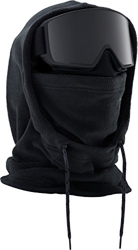 Burton MFI Fleece Helmet Hood Clava, Black, One Size