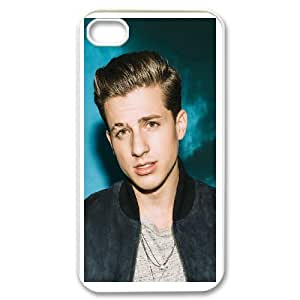Custom Cover Case Fashion Charlie Puth Time For iPhone 4,4S SXSWZ948367
