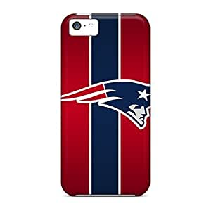 Anti-Scratch Hard Cell-phone Case For Apple Iphone 5c (jtm8559XUtC) Customized Attractive New England Patriots Image