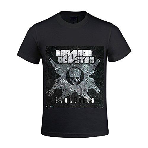 Evolution Carnage & Cluster Men Crew Neck T Shirts Short Sleeve - Balance Eyeglasses New