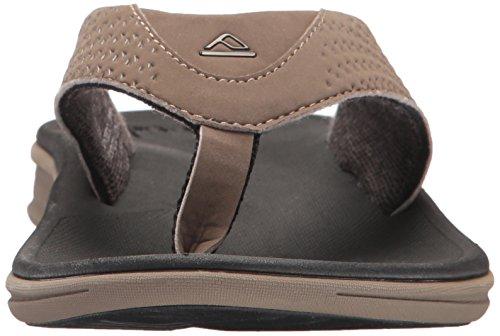 Reef Rover, Sandalias Flip-Flop para Hombre marrón