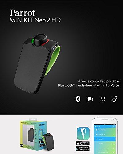 Amazon Parrot Minikit Neo 2 Hd Voice Controlled Portable
