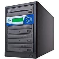 EZ Dupe EZD3TDVDLGB DUPE 3-TARGET DVD/CD DUPLICATOR BLACK